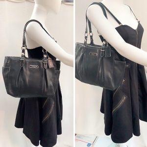 COACH 🖤Satchel Handbag Black J1082-F16565